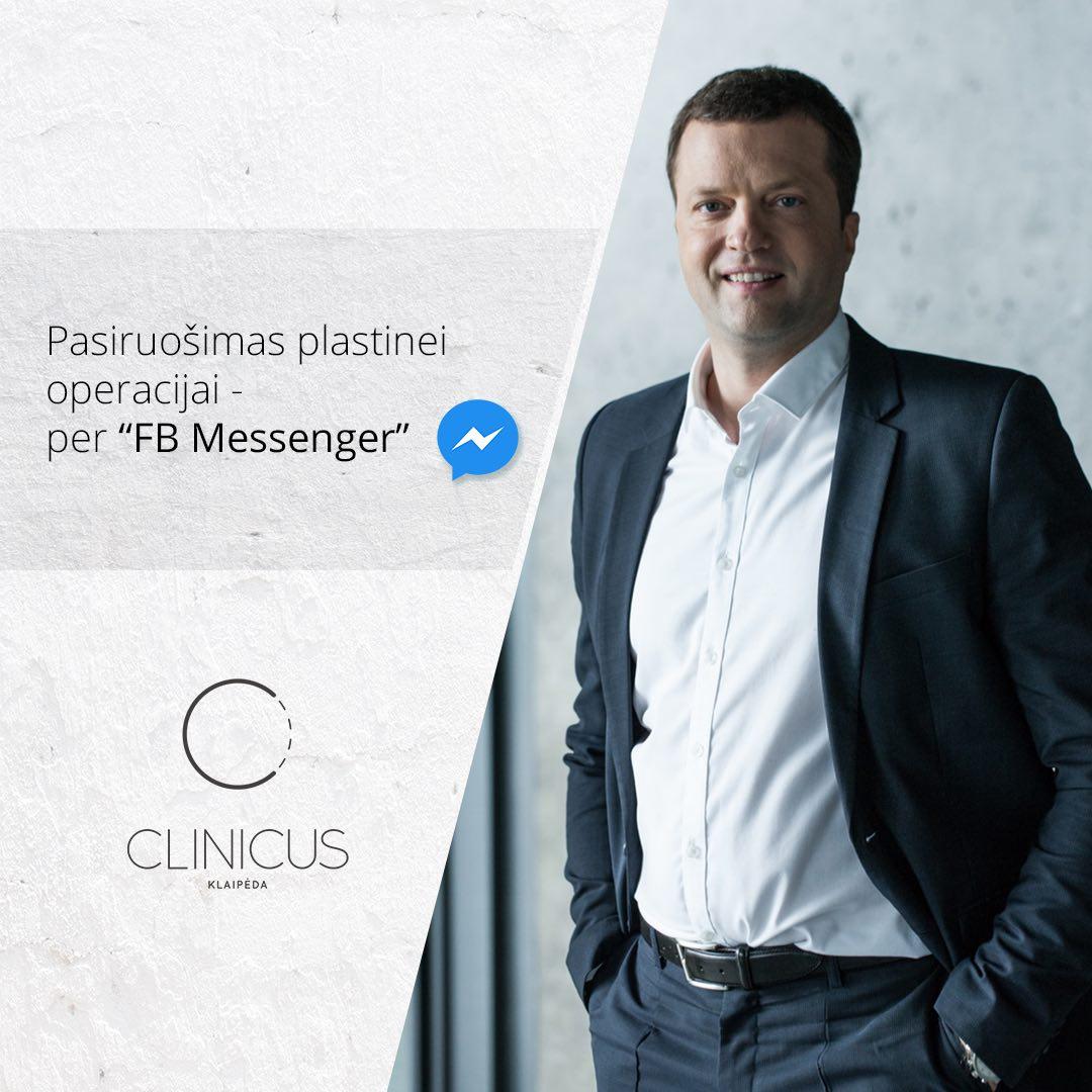 Nuotolinė konsultacija internetu su plastikos chirurgu
