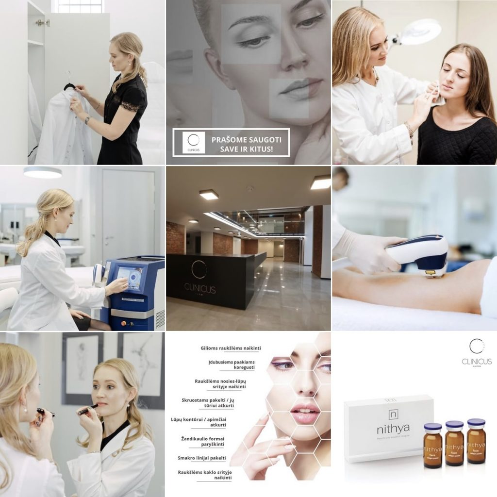 Dermatologė Klaipėda Agnė Bagdonė instagrame