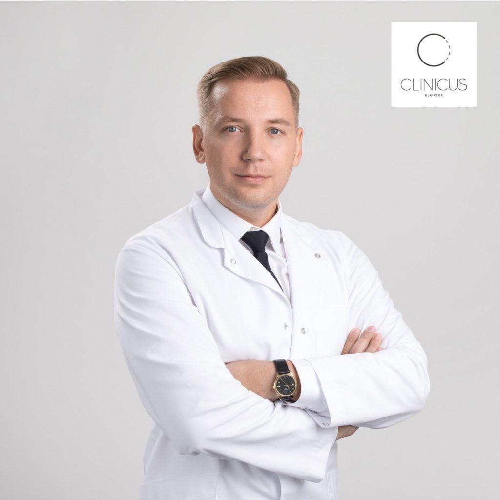Plastinės chirurgijos gydytojas Tomas Budrius