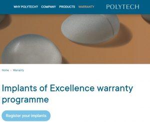 garantija implantams polytech