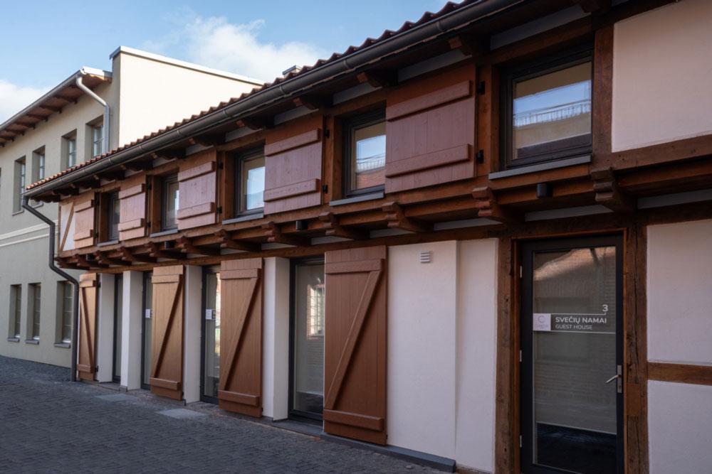 Istorinis sandėlis Klaipėdoje tapo apartamentais